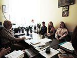 Зустріч лідерів самоврядування з адміністрацією РУГ